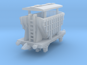 20 ton cement hopper(T-Gauge) in Smooth Fine Detail Plastic