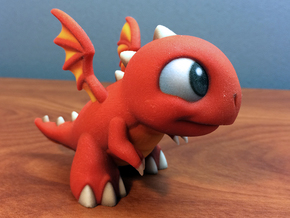 Dragonvale Baby Fire Dragon in Full Color Sandstone