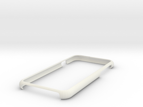 Iphone 6 bumper case in White Strong & Flexible