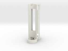 Mechanical - Internal Frame w/Magnet in White Natural Versatile Plastic