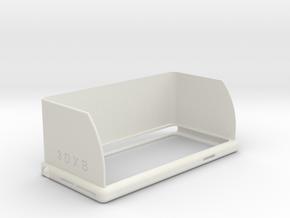 Iphone 6 Topload SunShade in White Natural Versatile Plastic