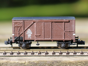 HJ Vogn in N scale (TOP Parts 1-2) in Smooth Fine Detail Plastic