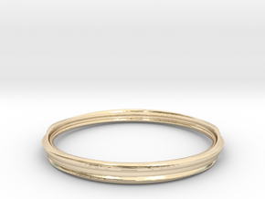TERRABYTE BY LEIGHTON MCDONALD in 14K Yellow Gold: Medium