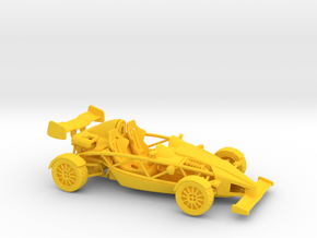 Ariel Atom 1/43 scale RHD w/wings in Yellow Strong & Flexible Polished