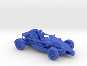 Ariel Atom 1/43 scale RHD no wings in Blue Strong & Flexible Polished
