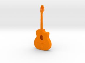 Top in Orange Processed Versatile Plastic