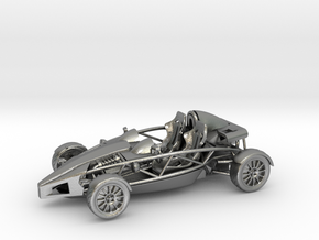 Ariel Atom 1/43 scale LHD no wings in Natural Silver