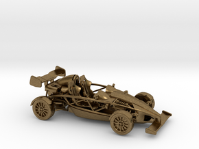 Ariel Atom 1/43 scale RHD w/wings in Natural Bronze