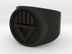 Black Death GL Ring Sz 5 in Black Strong & Flexible
