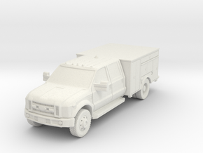 1/87 HO F-450 Mod 2 NO Lights or Body Top surfaces in White Natural Versatile Plastic