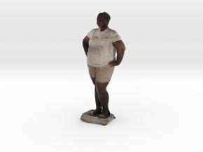 Woman With Hands On Hips 2 - Denver Startup Week 2 in Full Color Sandstone