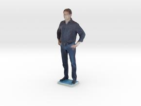 Man With Hands On Hips 3 - Denver Startup Week 201 in Full Color Sandstone