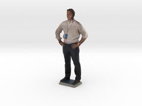 Man With Hands On Hips 4 - Denver Startup Week 201 in Full Color Sandstone
