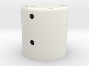 HGA in White Natural Versatile Plastic