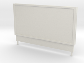 B-05 Poster Board in White Natural Versatile Plastic