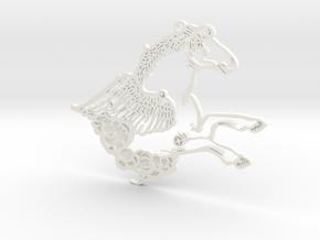 Grand Central Constellations - Pegasus in White Processed Versatile Plastic