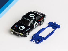 1/32 Fly Alfa Romeo GTAm Chassis in Blue Strong & Flexible Polished