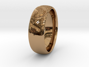 Custom RING For Her in Polished Brass