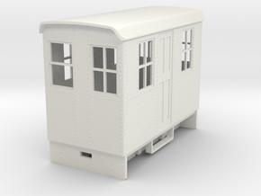 Gn15 electric Boxcab in White Natural Versatile Plastic