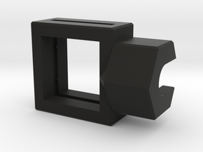 10mm Square Housing in Black Strong & Flexible