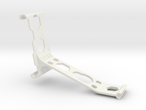 iPhone 6 Plus remote arm Bumper in White Strong & Flexible
