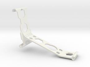iPhone 6 Plus remote arm Bumper in White Natural Versatile Plastic