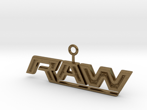Raw Logo in Natural Bronze
