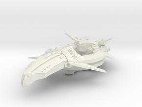 Zen Dazi Cruiser Hull Bare in White Natural Versatile Plastic