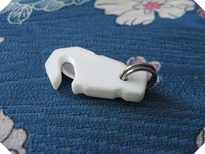 Cutter Tool C in White Processed Versatile Plastic