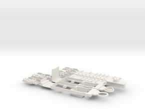 SNCV chassis single end car in White Strong & Flexible