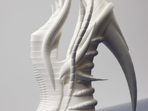 Exoskeleton Shoe - Full Size in White Natural Versatile Plastic