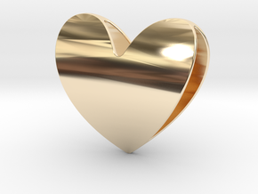 Heart 1 in 14K Gold