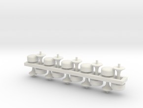 Counter Stools S Scale X10 in White Strong & Flexible