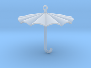 Umbrella Charm in Smooth Fine Detail Plastic