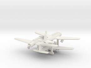 """1/300 Mitsubishi Ki30 """"Ann"""" in White Natural Versatile Plastic"""