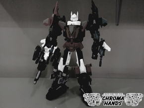 2004 Aerial Combiner FULL Upgrade Set in White Strong & Flexible Polished