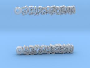 #BlameCena Earrings in Smooth Fine Detail Plastic