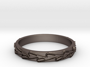 Vascular Love Ring Size 7.5 in Stainless Steel