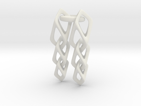 Cube Chain in White Strong & Flexible