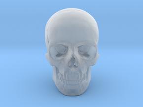 25mm 1in Human Skull Crane Schädel че́реп in Smooth Fine Detail Plastic
