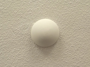 Hiding Place for ceiling wires - Junction Box in White Natural Versatile Plastic