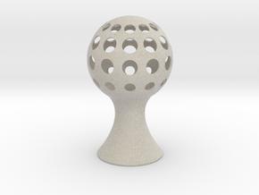 Sphere-light in Natural Sandstone