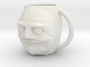 Cup Meme - I Like it - Me gusta in White Natural Versatile Plastic