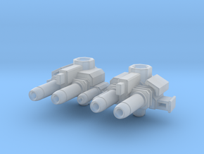 Skids' Forearm Blasters in Smooth Fine Detail Plastic