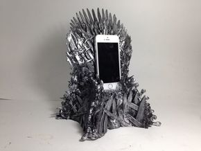 Forbidden Throne phone charging docking station  in White Strong & Flexible