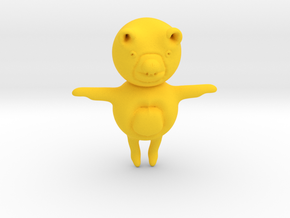 Toy Bear in Yellow Strong & Flexible Polished