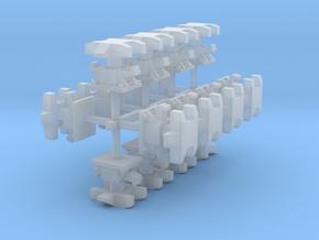 009 / H0e Balancierkupplung x 16 in Smooth Fine Detail Plastic