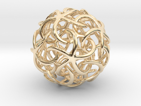 Starfish's Ball in 14K Yellow Gold