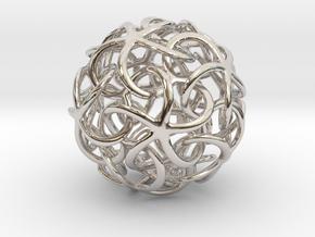 Starfish's Ball in Platinum