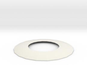 Austausch 3 für Faller Standard-Dach (H0 scale) in White Strong & Flexible
